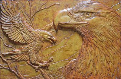 Teton Pair Art Print by Jeremiah Welsh