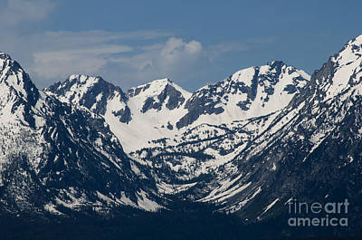 Photograph - Teton Peaks by Brenda Kean
