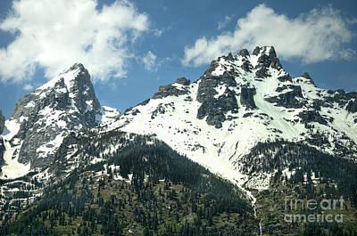 Photograph - Teton Peaks In Summer by Brenda Kean