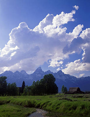 Teton Ranch Afternoon Art Print by Mike Norton