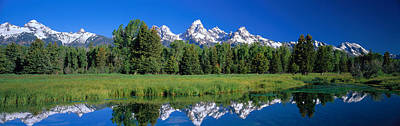 Magnificent Mountain Image Photograph - Teton Range Grand Teton National Park by Panoramic Images