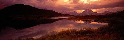 Teton Range, Mountains, Grand Teton Print by Panoramic Images