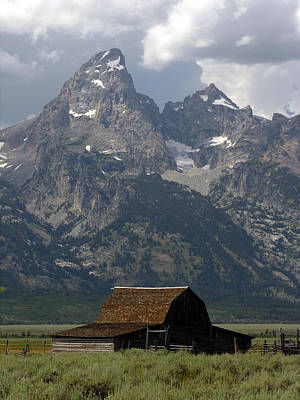 Photograph - Teton Range by Robert Lozen