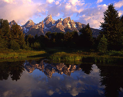Photograph - Teton Reflection by Ray Mathis