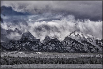 Photograph - Teton Storm Brewing by Erika Fawcett