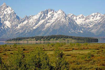 Photograph - Teton Valley by Robert  Moss