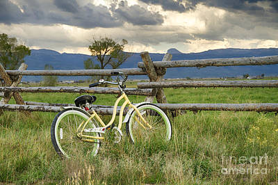 Photograph - Teton Vally Bike by Idaho Scenic Images Linda Lantzy