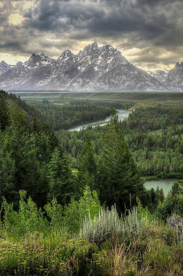Teton Photograph - Teton Visions by Ryan Smith