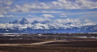 Photograph - Teton Vista by Heather Applegate