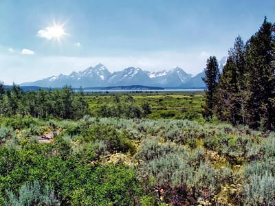 Photograph - Tetons 1 by Dawn Eshelman
