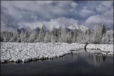 Photograph - Teton's Beaver Dam by Erika Fawcett