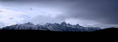 Photograph - Tetons From The Gros Ventre by Eric Tressler