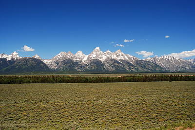 Photograph - Tetons In Summer by Robert  Moss