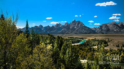 Photograph - Tetons Mountains  II by Robert Bales