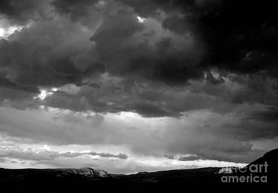Photograph - Tetons Storm by A K Dayton