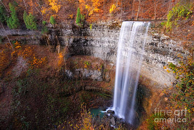 Photograph - Tew's Falls by Charline Xia