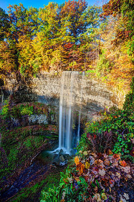 Craig Brown Photograph - Tews Falls by Craig Brown
