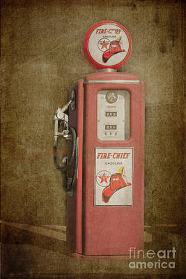 Texaco Fire Chief Art Print