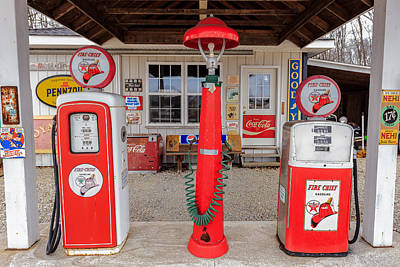 Texaco Firechief Art Print