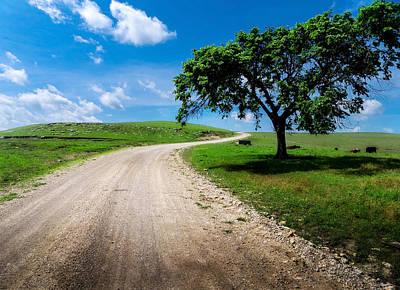 Prairie Photograph - Texaco Hill by Eric Benjamin