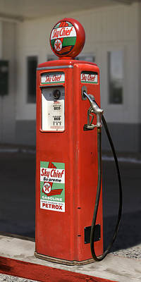 Gas Pump Wall Art - Photograph -  - Tokheim Gas Pump by Mike McGlothlen