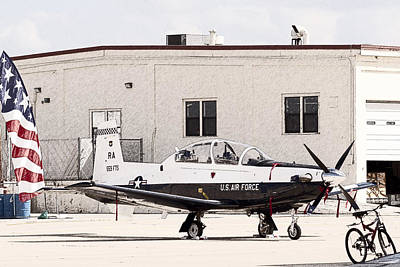 Photograph - Texan Trainer by Melinda Ledsome