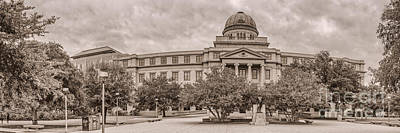 Texas A And M Academic Plaza - College Station Texas Art Print
