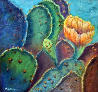 Texas Beauty  Pastel Art Print by Antonia Citrino