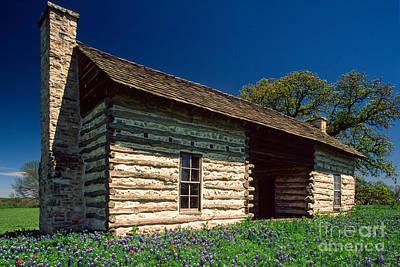 Photograph - Texas Beginnings by Inge Johnsson
