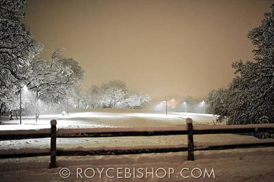 Photograph - Texas Blizzard by Royce Bishop
