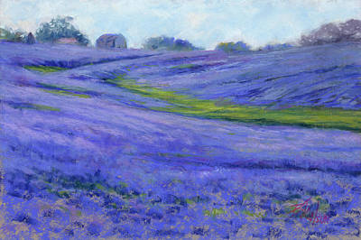 Painting - Texas Blue by Billie Colson