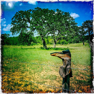 Photograph - Texas Boot by Randy Green
