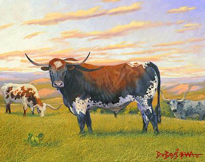 Texas Bred Art Print