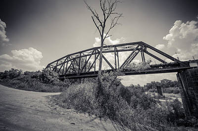 Photograph - Texas Bridge by David Morefield