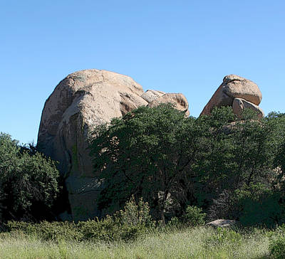 Photograph - Texas Canyon Megaliths  by Joe Kozlowski