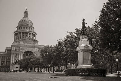 Photograph - Texas Capital In Austin Tx by John McGraw