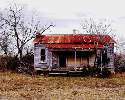 Texas Duplex Art Print by James Granberry
