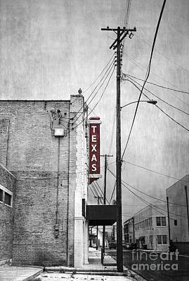 University Wall Art - Photograph - Texas by Elena Nosyreva