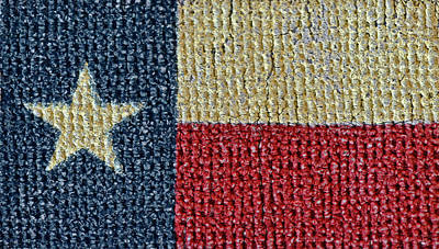 Photograph - Texas Flag by Bill Owen