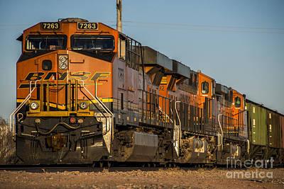 Amarillo Texas Photograph - Texas Freight  by Rob Hawkins