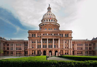 Photograph - Texas Government by David and Carol Kelly