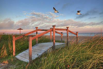 Rockport Wall Art - Photograph - Texas Gulf Coast Images   Rockport Beach Rockport Texas One by Rob Greebon