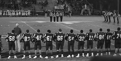 Photograph - Texas High School Football  by Shawn Marlow