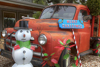 Wimberley Photograph - Texas Hill Country Images - Christmas Wishes From Wimberley Tex by Rob Greebon