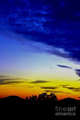 Texas Hill Country Sunset Art Print
