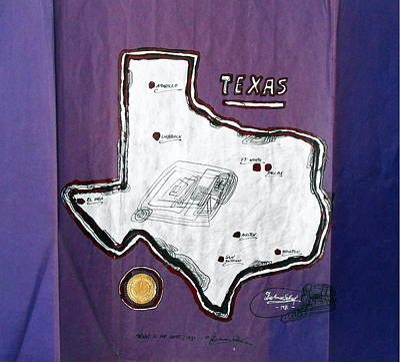 Steak Mixed Media - Texas Is My Home by Dietmar Scherf