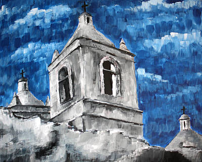 Painting - Texas Mission by Frank Botello