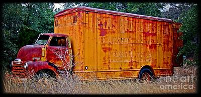 Texas Moving Co. - No.0651d Art Print by Joe Finney