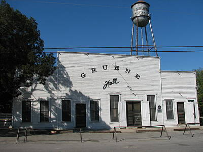 Texas Oldest Dance Hall Art Print