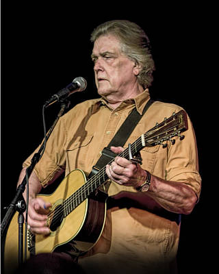 Photograph - Texas Singer Songwriter Guy Clark by Randall Nyhof
